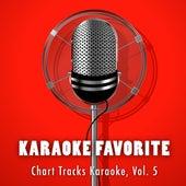 Chart Tracks Karaoke, Vol. 5 by Karaoke Jam Band