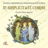In simplicitate cordis (Canto gregoriano) by Fulvio Rampi