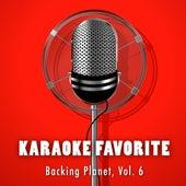 Backing Planet, Vol. 6 de Karaoke Jam Band
