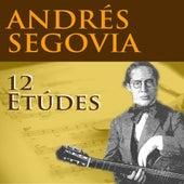 12 Études de Andres Segovia