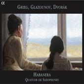 Grieg, Glazounov, Dvořák de Quatuor Habanera