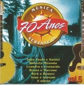 70 Anos da Melhor Música Sertaneja Vol. 05 de Various Artists