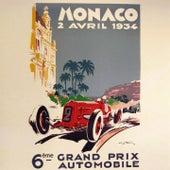 Monaco Grand Prix (Montecarlo 1934) by Joséphine Baker