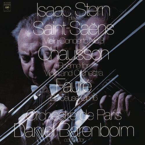 Saint-Saëns: Concerto No. 3 in B Minor, Op. 61 & Chausson: Poème, Op. 25 & Fauré: Berceuse, Op. 16 by Daniel Barenboim