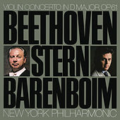 Beethoven: Concerto for Violin and Orchestra in D Major, Op. 61 by Daniel Barenboim