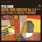 Bartók: Piano Concertos No. 1 & No. 3 by Peter Serkin