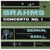 Brahms: Piano Concerto No. 1, Op. 15 by Rudolf Serkin
