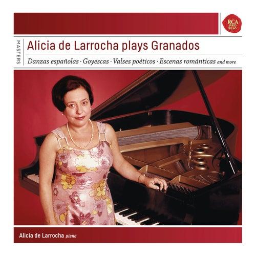 Alicia de Larrocha plays Granados by Alicia De Larrocha