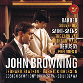 Barber: Souvenirs, Op. 28 - Saint-Saëns: The Carnival of the Animals - Debussy: Préludes, Book 2, L. 123 von John Browning