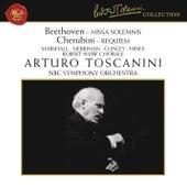 Beethoven: Missa Solemnis, Op. 123 - Cherubini: Requiem Mass No. 1 in C Minor by Arturo Toscanini