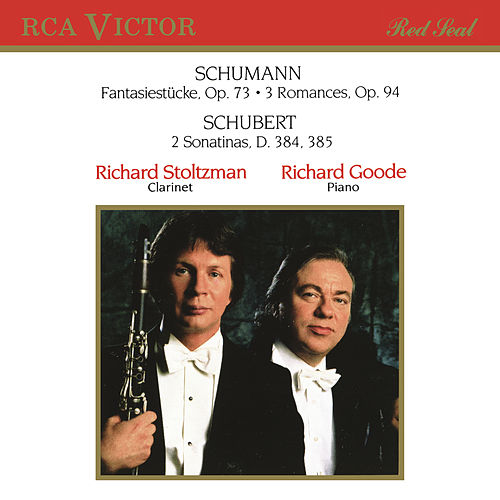 Stoltzman Plays Schumann & Schubert by Richard Goode