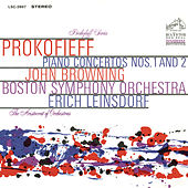 Prokofiev: Piano Concerto No.2 in G Minor, Op. 16 & Piano Concerto No. 1 in D-Flat Major, Op. 10 by John Browning