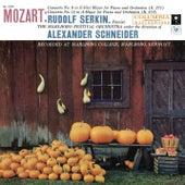 Mozart: Piano Concerto No. 9 in E-Flat Major, K. 271 & Piano Concerto No. 12 in A Major, K. 414 von Rudolf Serkin