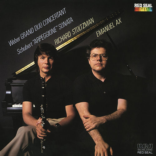 Weber: Grand Duo Concertant in E-Flat Major, J.204, Op. 48 & Schubert: Arpeggione Sonata, D. 821 by Emanuel Ax