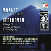 Mozart: Serenade No. 11 in E-Flat Major, K. 375 & Beethoven: Trio in B-Flat Major, Op. 11 & Quintet in E-Flat Major, Op. 16 di Richard Stoltzman