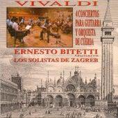 4 Conciertos para guitarra y orquesta de cuerda by Solistas de Zagreb