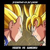 Vegeta vs. Sangoku by D'Cantwo Jr.