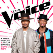 Love Me Now (The Voice Performance) by Malik Davage