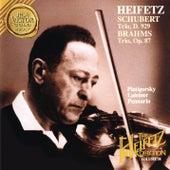 The Piano Trio Collection - Schubert: Trio No. 2 in E-Flat Major, D. 929 - Brahms: Trio No. 2 in C Major, Op. 87 - Heifetz Remastered by Gregor Piatigorsky