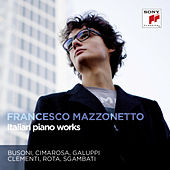 Italian Piano Works by Francesco Mazzonetto
