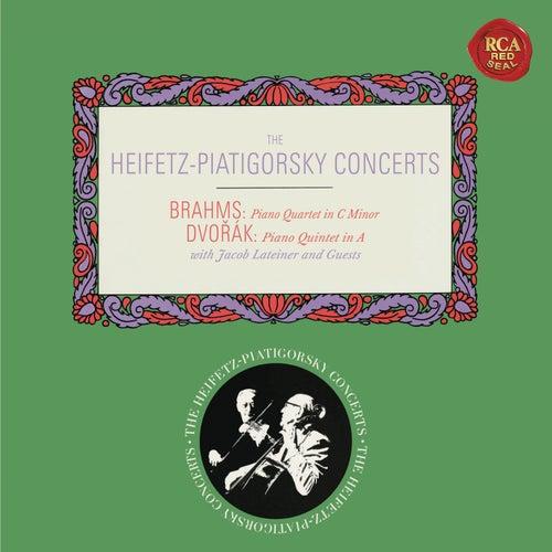Brahms: Piano Quartet No. 3 in C Minor, Op. 60 - Dvorák: Piano Quintet No. 2 in A Major, Op. 81 - Heifetz Remastered by Gregor Piatigorsky