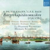 Telemann & C.P.E. Bach: Bürgerkapitänsmusiken de La Stagione Frankfurt