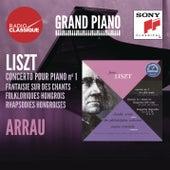 Liszt: Concerto 1, Fantaisie, Rhapsodies hongroises - Arrau von Claudio Arrau