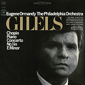 Chopin: Piano Concerto No. 1 in E Minor, Op. 11 by Emil Gilels