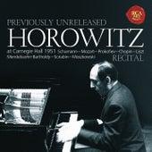 Horowitz - Recital at Carnegie Hall 1951 by Vladimir Horowitz
