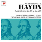 Haydn: Symphonies Nos. 27, 32, 34 & 35 by Max Goberman