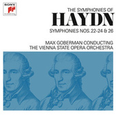 Haydn: Symphonies Nos. 22-24 & 26 by Max Goberman