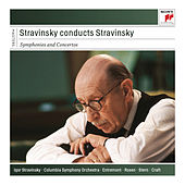 Stravinsky Conducts Stravinsky - Symphonies and Concertos de Various Artists