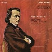 Brahms: Piano Sonata No. 3 in F Minor, Op. 5; Intermezzo No. 6 in E Major, Op. 116 & Romance No. 5 in F Major, Op. 118 by Arthur Rubinstein