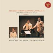 The Piano Trio Collection - Beethoven: Trio No. 1 in E-Flat Major, Op. 1 & Trio No. 2 in E-Flat Major, Op. 70 -  Heifetz Remastered by Gregor Piatigorsky