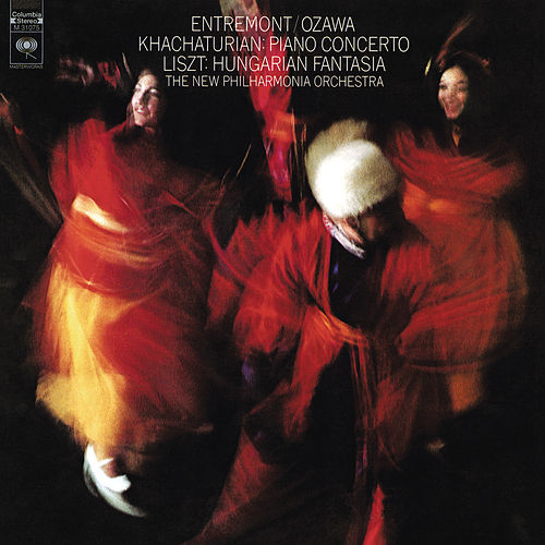Khachaturian: Piano Concerto in D-Flat Major, Op. 38 - Liszt: Hungarian Fantasy, S. 123 - Ravel: Piano Concerto for the Left Hand, M. 82 by Philippe Entremont