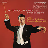 Bach: Suite for Orchestra No. 2 in B Minor, BWV 1067 & Brandenburg Concerto No. 5 in D Major, BWV 1050 de Antonio Janigro