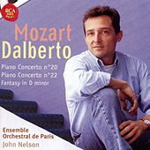 Mozart: Piano Concertos 20 And 22 by D'Albert