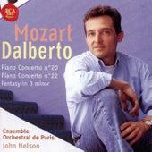 Mozart: Piano Concertos No. 20 and 22, Fantasy in D Minor von D'Albert