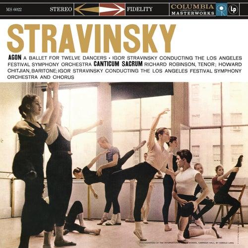 Stravinsky: Agon & Canticum sacrum by Igor Stravinsky