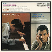 Beethoven: Piano Concerto No. 2 in B-Flat Major, Op. 19 - Bach: Keyboard Concerto No. 1 in D Minor, BWV 1052 ((Gould Remastered)) by Glenn Gould