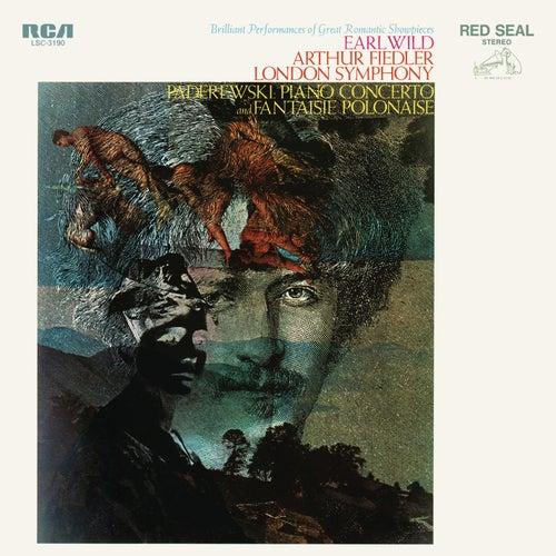 Paderewski: Piano Concerto in A Minor, Op. 17 & Fanaisie polonaise sur des thèmes originaux, Op. 19 by Earl Wild
