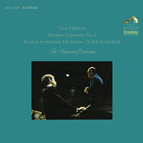 Brahms: Piano Concerto No. 1 in D Minor, Op. 15 by Van Cliburn