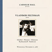 Vladimir Feltsman at Carnegie Hall, New York City, November 11, 1987 by Vladimir Feltsman