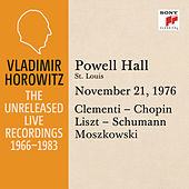 Vladimir Horowitz in Recital at Powell Hall, St. Louis, November 21, 1976 by Vladimir Horowitz