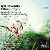 Stravinsky: L'oiseau de feu (Orchestral and Piano Four Hands Version) von Dennis Russell Davies