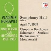Vladimir Horowitz in Recital at Symphony Hall, Boston, April 7, 1968 by Vladimir Horowitz