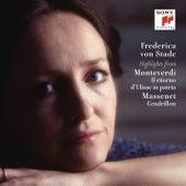 Frederica von Stade Sings Highlights from Monteverdi and Massenet de Frederica Von Stade
