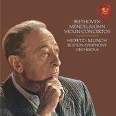 Beethoven: Violin Concerto in D Major, Op. 61 -  Mendelssohn: Violin Concerto in E Minor, Op. 64 - Heifetz Remastered by Jascha Heifetz