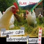 Disaster Cake Interrogation Bunny by Alan Jenkins