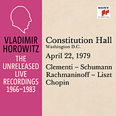 Vladimir Horowitz in Recital at Constitution Hall, Washington D. C., April 22, 1979 by Vladimir Horowitz